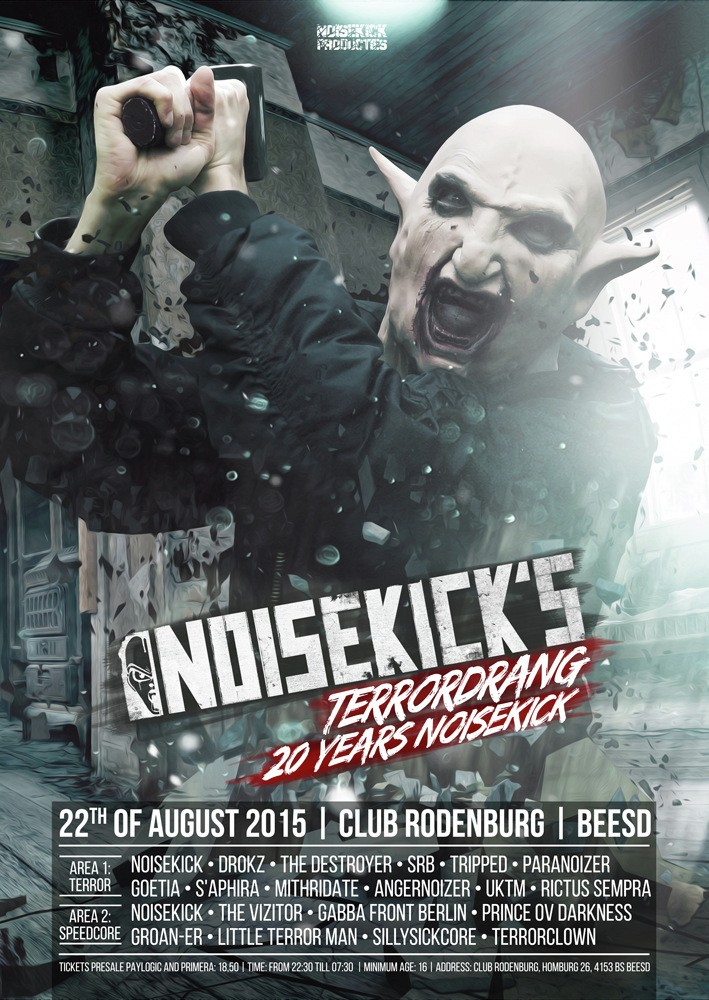 [ NOISEKICK'S TERRORDRANG - 20 YEARS NOISEKICK - 22 Aout 2015 - Club Rodenburg - Beesd (NL) ] 28759610