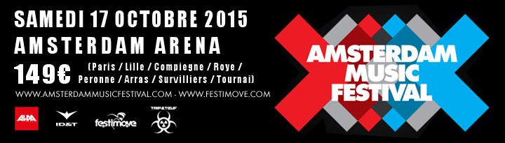 [ AMSTERDAM MUSIC FESTIVAL - 17 OCTOBRE 2015 - AMSTERDAM ARENA - NL ] Bannie10