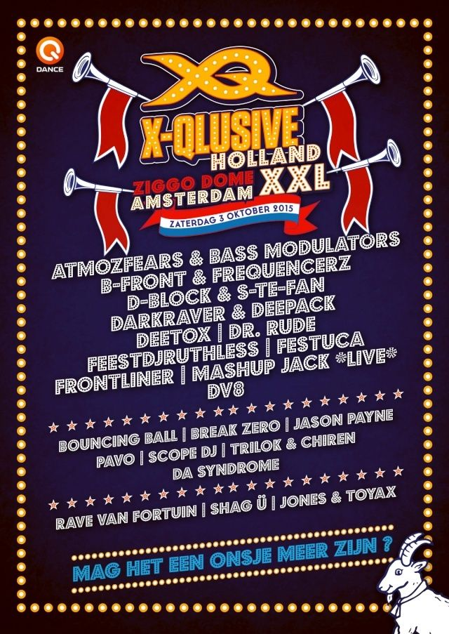 [ X-QLUSIVE HOLLAND XXL - 3 Octobre 2015 - Ziggodome Amsterdam (NL) ] Fb_pos10
