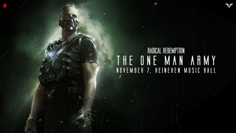 [ Radical Redemption - The One Man Army - 7 Novembre 2015 - Heinkein Music Hall - Amsterdam - NL ] G-212010