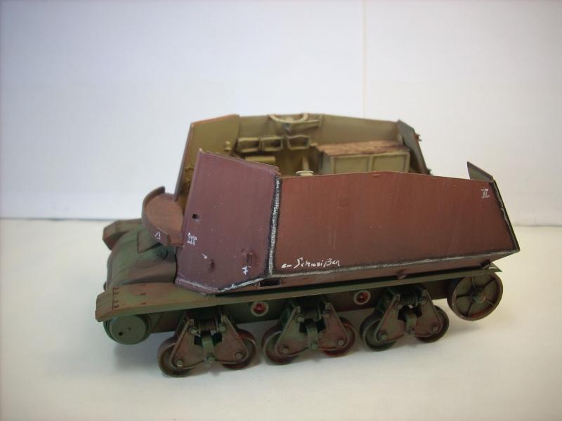 German 39H 10.5 cm LeFH 18 Sf auf Geschutzwagen 1/35eme 39h-210