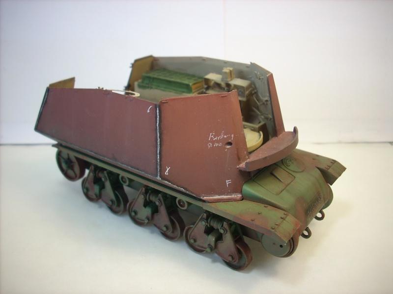 German 39H 10.5 cm LeFH 18 Sf auf Geschutzwagen 1/35eme 39h-410