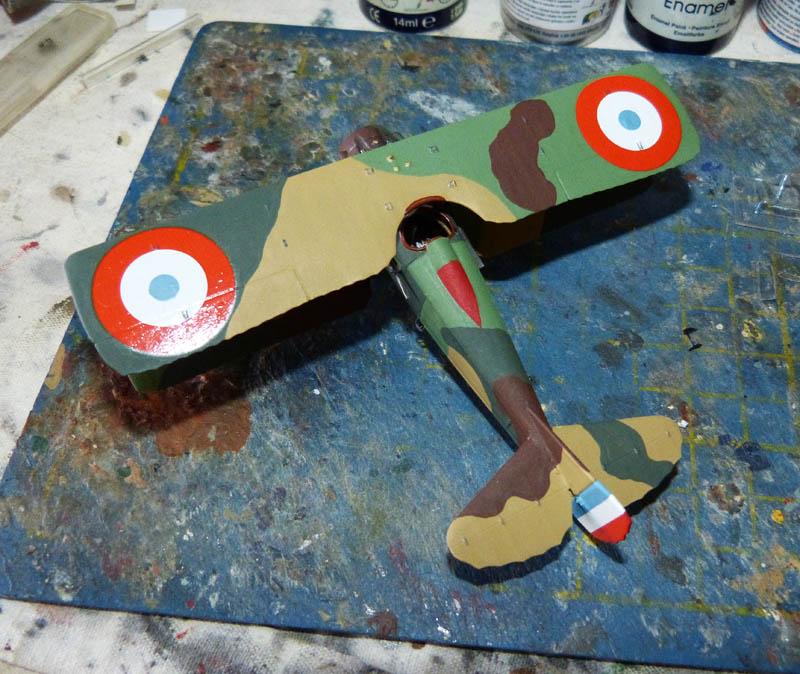 """Concours 1ere Guerre Mondiale [Eduard] - SPAD XIII de """"l'As Abbé"""". - Page 2 Spad_x25"""
