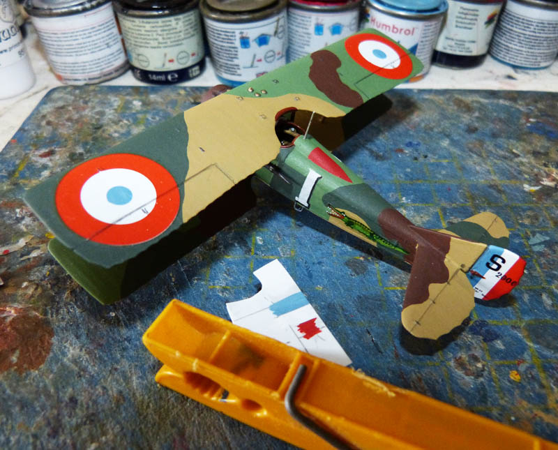 """Concours 1ere Guerre Mondiale [Eduard] - SPAD XIII de """"l'As Abbé"""". - Page 2 Spad_x32"""