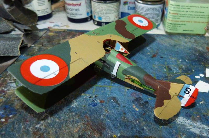 """Concours 1ere Guerre Mondiale [Eduard] - SPAD XIII de """"l'As Abbé"""". - Page 2 Spad_x35"""