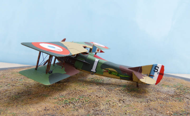 """Concours 1ere Guerre Mondiale [Eduard] - SPAD XIII de """"l'As Abbé"""". - Page 2 Spad_x43"""