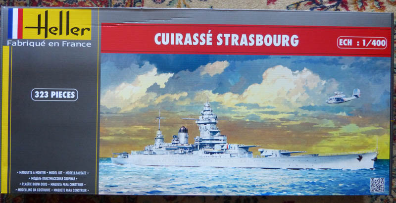 Cuirassé STRASBOURG 1/400ème Réf 81082  Strasb11