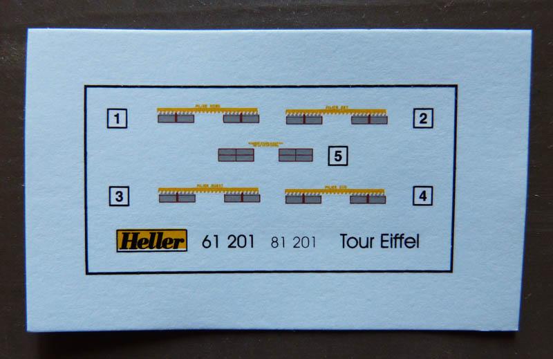 Tour EIFFEL 1/650ème Réf 61201 Tourei18