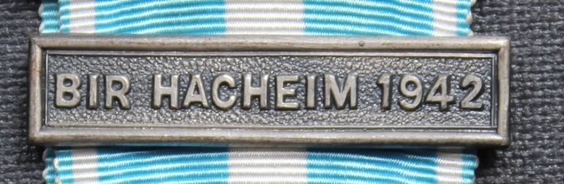 FFL, agrafe coloniale Bir Hacheim, fab GB Agrafe12