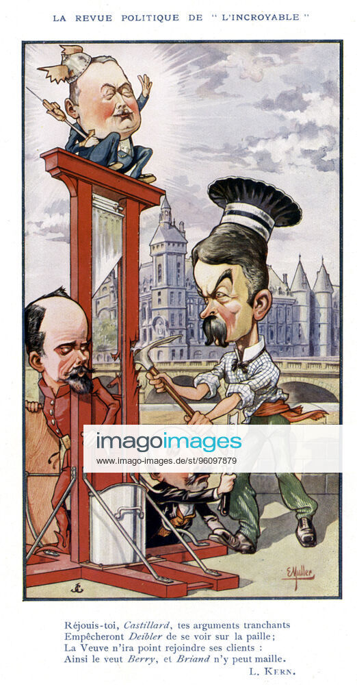 Guillotine in satire and caricature - Page 22 Imago010