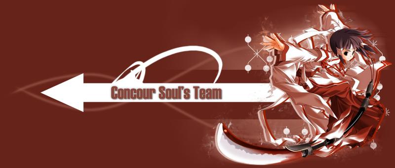 Concour Soul's Team 03