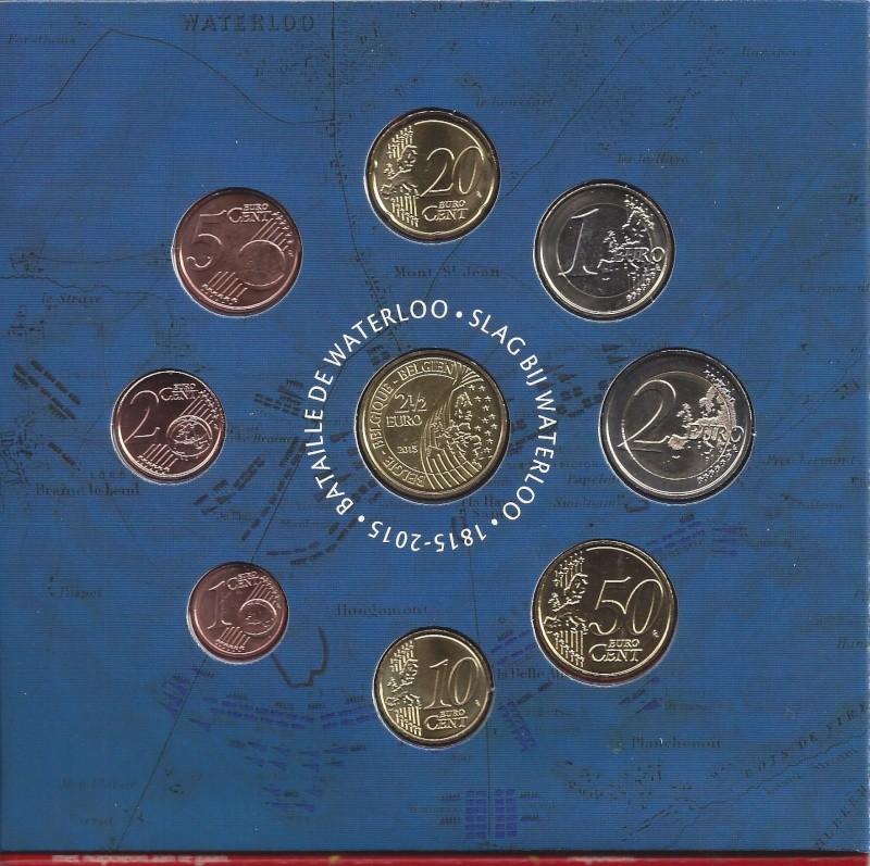 Euro Coffret Annuel Belge Waterl11