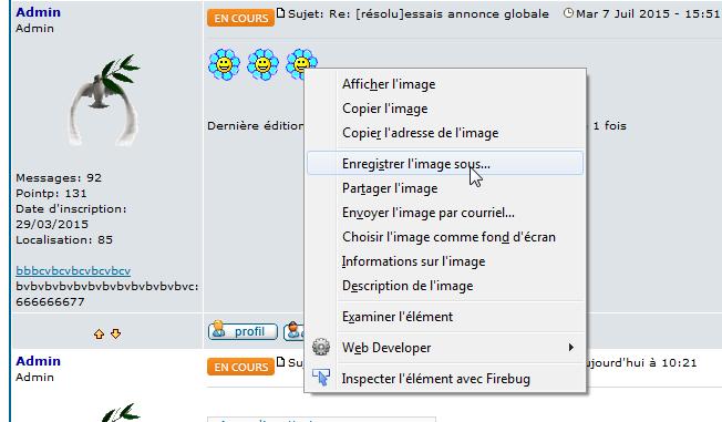 [PHPBB2] Désactiver le menu contextuel des images des messages 0127