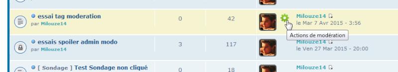 [TOUTES VERSIONS] Afficher les outils de modération via la liste des sujets 0129
