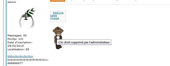 [PHPBB2] Désactiver le menu contextuel des images des messages 0217