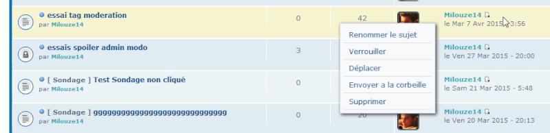 [TOUTES VERSIONS] Afficher les outils de modération via la liste des sujets 0218