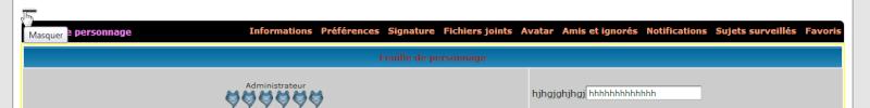 [PHPBB2] Les onglets du profil quelque peu original 0221