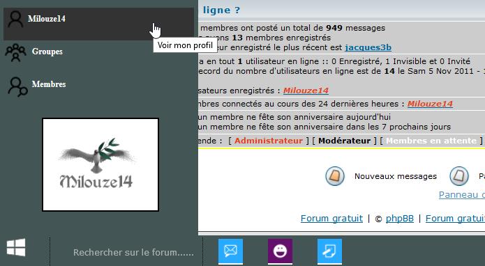 [TOUTES VERSIONS] Afficher une barre des tâches façon Windows 10 sur votre forum 0314