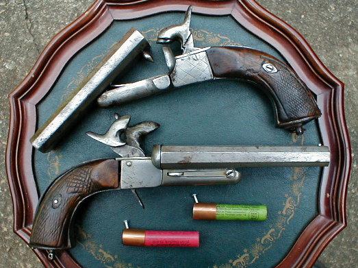 Pistolet Howdah à 2 canons juxtaposés Howdah10