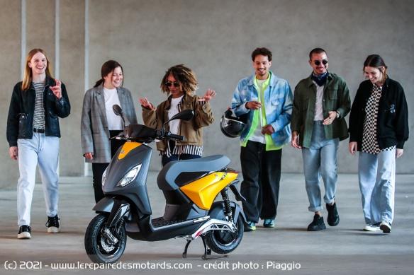 Bientôt un scooter électrique Piaggio abordable ! Scoote10