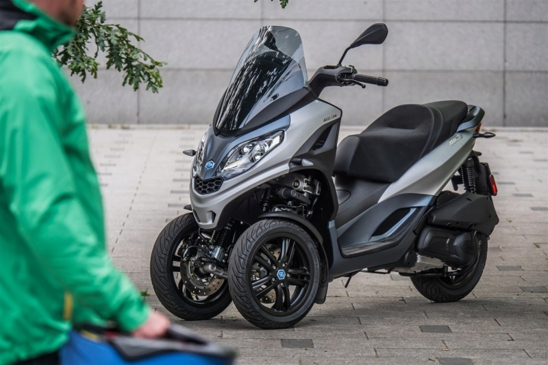 Piaggio MP3 300 HPE Sport Test-p10