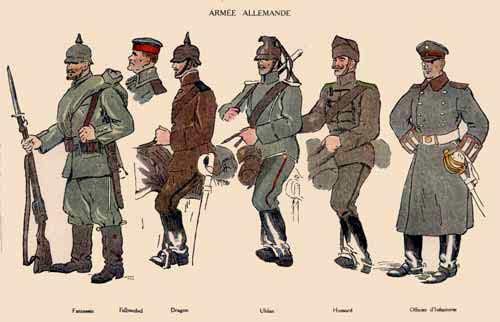 L'Armée impériale allemande T14ten10
