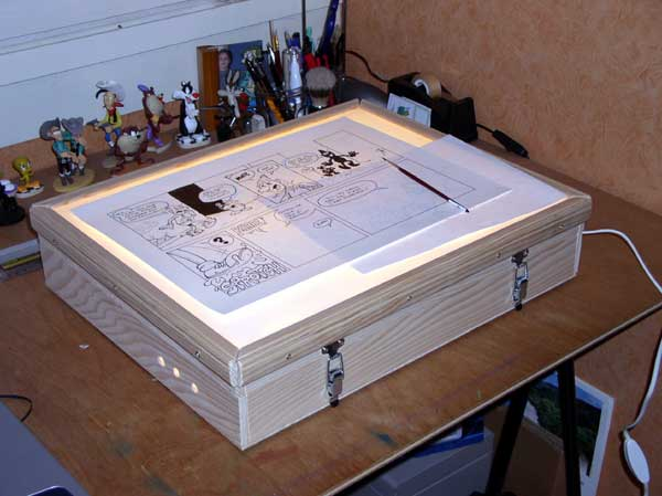 table - Fabriquer votre table lumineuse. 410