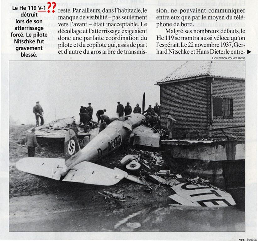Heinkel He 119 V4 (Planet Models 1:72) He_11910