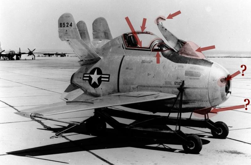 "McDonnell XF-85 ""Goblin"" [1:72-MPM] - Page 2 Mcdonn11"