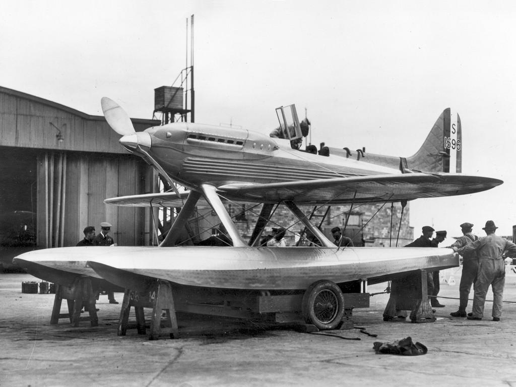 Supermarine S.6A ou B (1/72, Pavla) Superm12