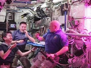 [ISS] Les astronautes vont manger leur 1ère salade cultivée dans l'espace Cmd9bq10