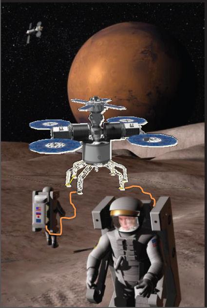 L'exploration de Phobos Phobos10