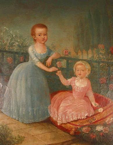 Portraits de Marie-Antoinette, enfant et jeune archiduchesse - Page 2 Antoni10