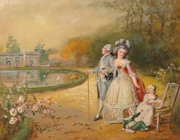 Portraits de Marie Antoinette avec ses enfants - Page 2 Famill10