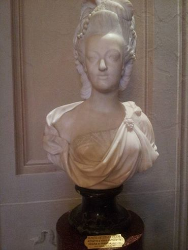 Buste de Marie-Antoinette, Palais Pitti (Florence) Ma_bus10