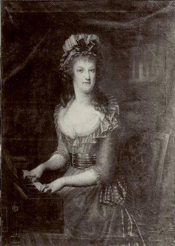 Portraits de Marie Caroline d'Autriche, reine de Naples et de Sicile Ma_cla10