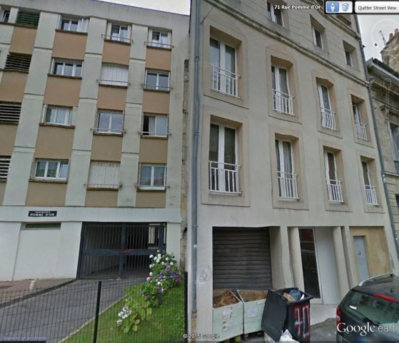 Les gros abris de défense passive à Bordeaux / CHARTRONS 71_rue10
