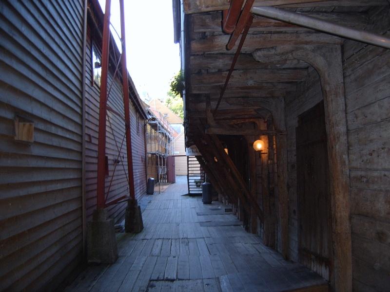Bryggen - Quartier hanséatique de Bergen - Norvège Brygge10