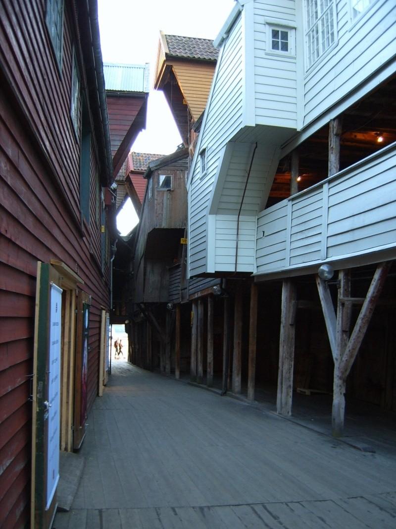 Bryggen - Quartier hanséatique de Bergen - Norvège Brygge11