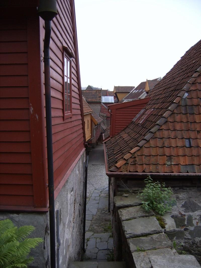 Bryggen - Quartier hanséatique de Bergen - Norvège Brygge13