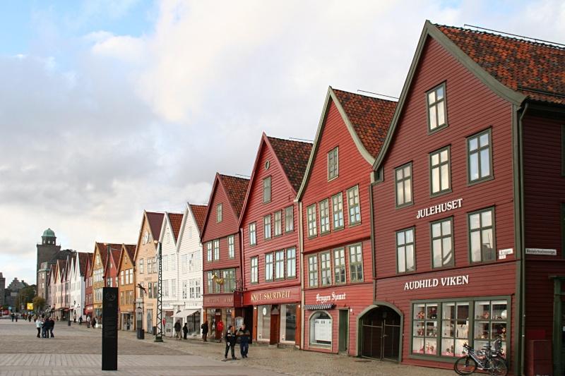 Bryggen - Quartier hanséatique de Bergen - Norvège Brygge14