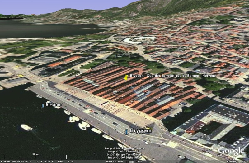 Bryggen - Quartier hanséatique de Bergen - Norvège Brygge15