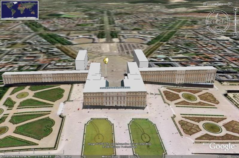 Bâtiments 3D avec textures - PARIS et Région parisienne [Sketchup] Debut_10