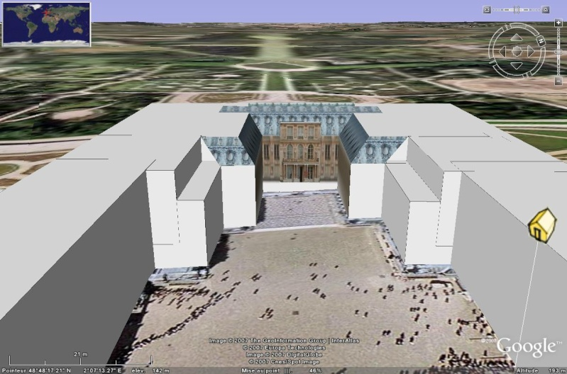 Bâtiments 3D avec textures - PARIS et Région parisienne [Sketchup] Debut_11