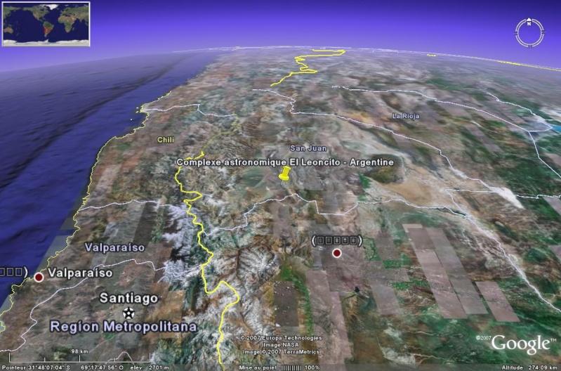 Observatoires astronomiques vus avec Google Earth - Page 6 El_leo10