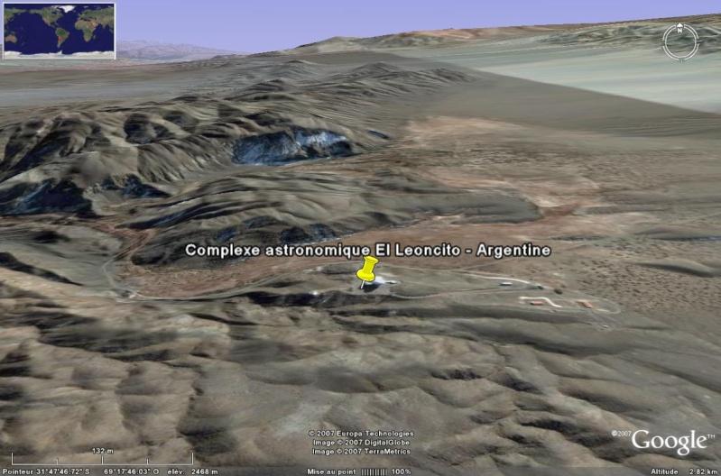 Observatoires astronomiques vus avec Google Earth - Page 6 El_leo11