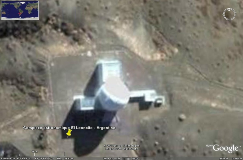 Observatoires astronomiques vus avec Google Earth - Page 6 El_leo12