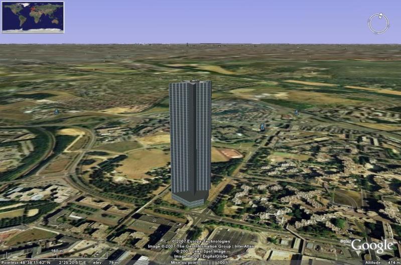 Bâtiments 3D avec textures - PARIS et Région parisienne [Sketchup] Myster10