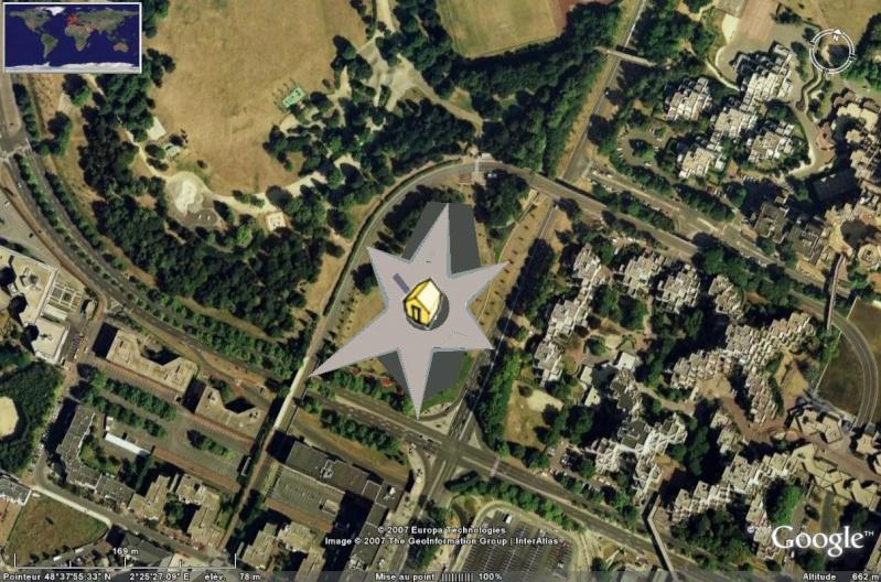 Bâtiments 3D avec textures - PARIS et Région parisienne [Sketchup] Myster11