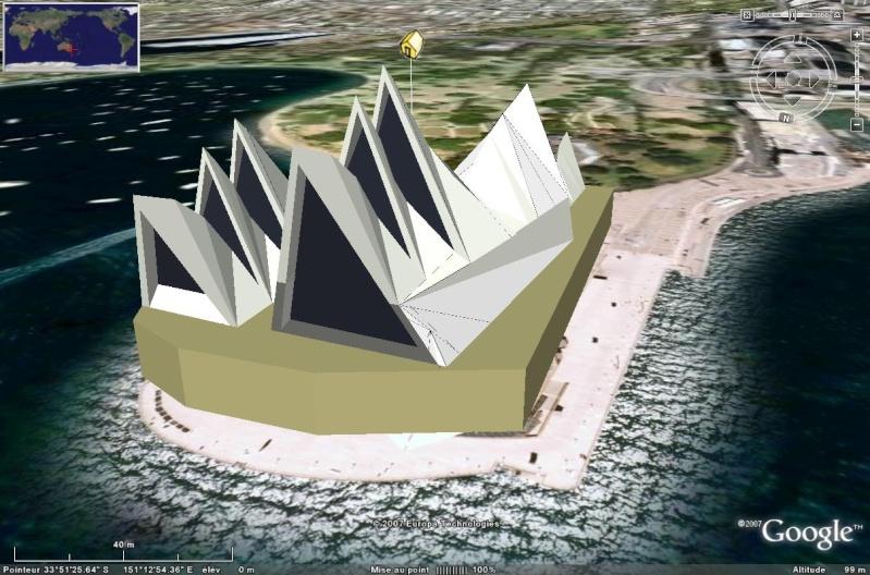 Batiments 3D avec textures - MONDE [Sketchup] Opera_10
